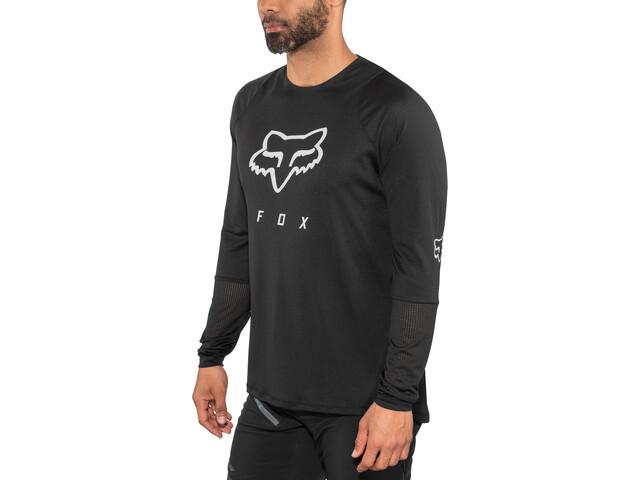Fox Defend Foxhead LS Jersey Herren black